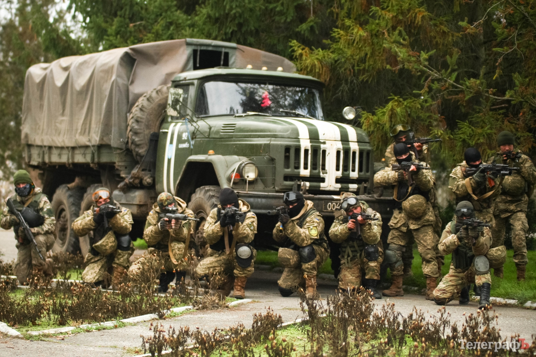 фото украинского спецназа на броне обучения казанова